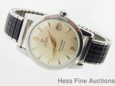 be0d74ebfa2 Vintage Running Mens SS Omega Automatic Seamaster Calendar Date Wrist Watch