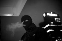 Black and White, Balaclava, Protester, Night Toca Ninja, La Haine Film, Cyberpunk, Arte Lowrider, Estilo Cholo, Thug Style, Street Goth, Gangster Girl, Foto Casual
