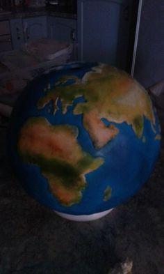 torta globo (mondo)