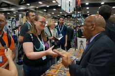 Appreciative fan thanks @repjohnlewis for #MARCH #SDCC