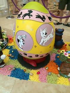 Grand Floridian Easter Eggs 2015 ©Destinations In Florida