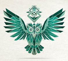 Monochromatic owl by MaNoU56 on DeviantArt