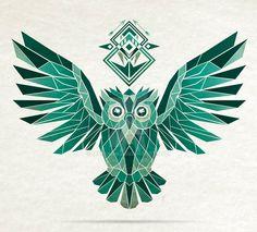 Monochromatic owl by MaNoU56 on DeviantArt