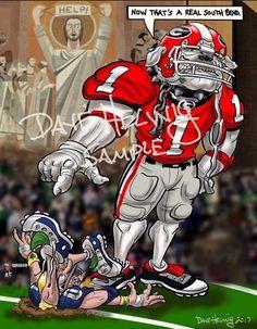 2017 Dave Helwig 'Southern Bend' v. Georgia Bulldog Shoes, Georgia Bulldog Mascot, Georgia Bulldogs Football, Sec Football, College Football, Bulldog Wallpaper, Georgia Girls, Superbowl Champions, Atlanta Falcons
