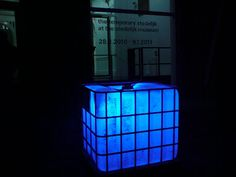 IBC TOTES -- Turn them into some massive and unique luminary lights!  This guy found them in Amsterdam!