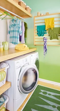 Guest Blogger: Easy Space Saving Ideas for your Laundry Room