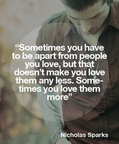 sometimes you love them more.