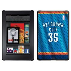 Kevin Durant - Road Jersey Front design on a Black Thinshield Case for Amazon Kindle Fire by Coveroo. $39.95. This hard shell polycarbonate case offers a slim fit form factor, while covering the back and sides of your Kindle Fire
