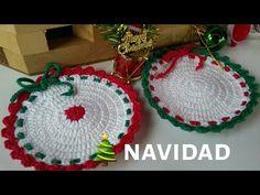 Christmas Crochet Patterns, Crochet Baby Clothes, Crochet Earrings, Xmas, Homemade, Knitting, Diy, Youtube, Holiday Crochet