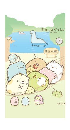 すみっコぐらし | 壁紙&スタンプコーナー[スゴ得] Kawaii Doodles, Cute Doodles, Kawaii Art, Kawaii Wallpaper, Cute Wallpaper Backgrounds, Cute Cartoon Wallpapers, Cute Cartoon Drawings, Kawaii Drawings, Sumiko Gurashi