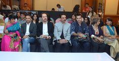 Mandira Bedi, Runit Shah, Shahab Durazi, Wendell Rodricks and Meher Castelino  at SNDT-AMD Chrysalis fashion show..