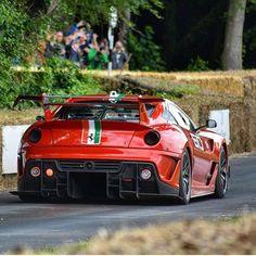 Ferrari 599 XX Evo Via @sj.supercars #TheSupercarSquad
