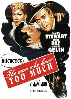 The Man Who Knew Too Much, 1956, poster