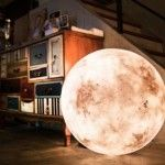 Luna: A Lantern That Looks Like a Moon:  Very pricey..$85 for the smallest, $875 for largest..