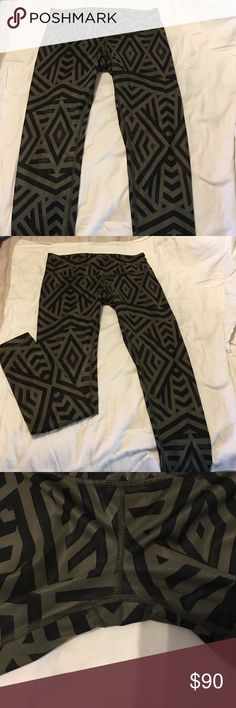 Lululemon Pants 10 Hard to find Lululemon pants in size 10. Only worn once. Excellent condition. lululemon athletica Pants Leggings