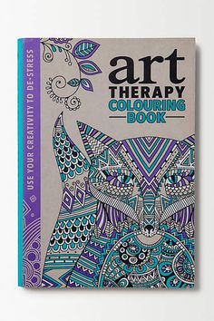 Art Therapy Colouring Book - anthropologie.eu