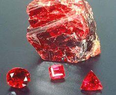 ruby stone -