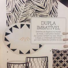Revista Casa Cláudia | Abril 2015 #azulejos #azulejosdecorados #revestimentos #arquitetura #interiores #decor #design #sala #reforma #decoracao #geometria #casa #ceramica #architecture #decoration #decorate #style #home #homedecor #tiles #ceramictiles #homemade