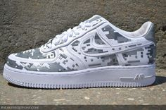 Nike Air Force 1 Low Premium High-Frequency Digital Camouflage Restock at Sneaker  Bistro 45c35604fc