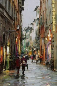 Untitled by Dmitri Danish: Watercolor.