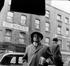 Del Monico wine shop, Old Compton Street,1955.