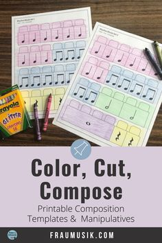 Music Composition Activities for Elementary Music Classroom Music Games For Kids, Music Lessons For Kids, Music Lesson Plans, Music Activities, Group Activities, Physical Activities, Music Education Lessons, Online Music Lessons, Music Classroom