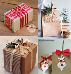 Então, já vimos arvores de Natal, seus enfeites, a decoração da casa e da mesa de Natal , demos mais ideias para decorar a casa e para a Mesa de Natal e Ano Novo. O que falta agora, gente? Embrulhar os presentes!!!