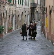 Looks like the town of Scanno where I bought my gold pendant from that I treasure. My signature piece.  Great memories