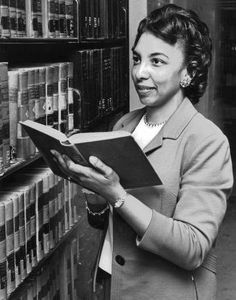 Hannah Diggs Atkins (librarian, educator, state legislator). A graduate of the University of Chicago Graduate Library School, Atkins served as school, public, and academic librarian, as well as library educator in Tennessee and Oklahoma. She was the first African-American woman to sit in the State Legislature in Oklahoma and first African woman Secretary of State of Oklahoma. Sources: Notable American Black Women, II, 1998; Black Women in America, 1993.