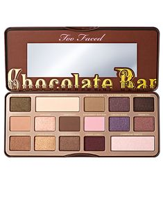 From eyeshadow palettes and mascaras to primers and foundations, Too Faced özgü your makeup needs covered! With Too Faced constantly extending their product range, how do you know what products to cho Chocolate Facial, Chocolate Bar Eyeshadow, Chocolate Bar Palette, Eyeshadow Palette Too Faced, Neutral Eyeshadow Palette, Makeup Palette, Pink Eyeshadow, Neutral Palette, Eye Palette
