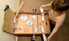 Collected: 15 awesome things to make with a cardboard box - Kidspot