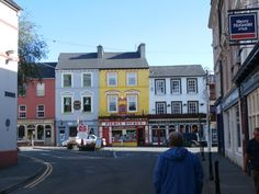 Skibbereen County Cork Ireland, Images Of Ireland, Irish Roots, Emerald Isle, Northern Ireland, Beautiful Images, Scenery, To Go, Street View