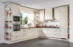 Kuchyně Nadine magnolie hedvábný mat  #Provencekuchyne #kuchyne #kitchen #modernikuchyne