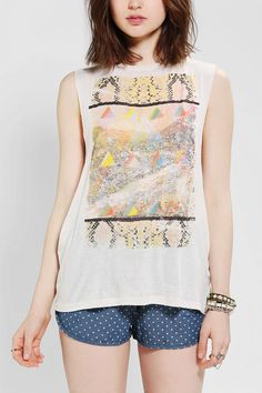 Workshop Slippery Snake Muscle Tee  #urbanoutfitters