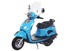 """SCO028 150cc Scooter Automatic Transmission, Front Disc/Rear Drum Brake, 10"""" Wheels, Aluminum Foot Rest, Windshield $700.00"""