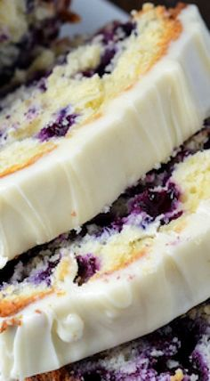 This Blueberry Lime Cream Cheese Pound Cake is so easy to make. Made with cream cheese & fresh blueberries, it's moist, delicious and bursting with color. Blueberry Desserts, Just Desserts, Delicious Desserts, Dessert Recipes, Yummy Food, Blueberry Cream Cake Recipe, Lemon Blueberry Pound Cake, Blueberry Cream Cheese Muffins, Blueberry Bread