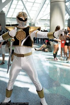 White Ranger (previously known as the Green Ranger) | AX 2013