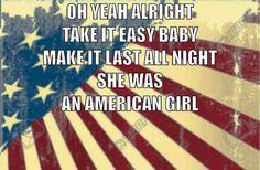 Tom Petty american girl