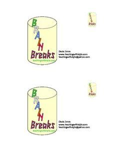 More brain break ideas