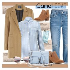 """""""Camel Coat"""" by jenny007-281 ❤ liked on Polyvore featuring Steven by Steve Madden, mel, Casetify, Rebecca Minkoff and camelcoat"""