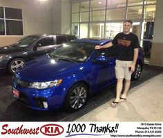 https://flic.kr/p/G6G9pX | #HappyBirthday to Jesse from Clinton Miller at Southwest Kia Mesquite! | deliverymaxx.com/DealerReviews.aspx?DealerCode=VNDX