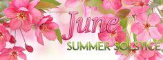 June Summer Solstice Facebook Cover coverlayout.com