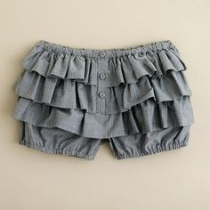 Girls' cotton wave bloomers : shorts | J.Crew