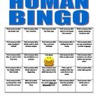 This is a get to know you game.  I give each student a bingo sheet and have them put it on their desk.  Then I put on some music and have the students do a 'walk about'.  They simply walk around the room and put their name in a box that applies to them.
