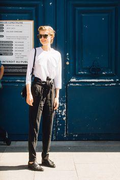 Street Style Paris Haute Couture Week 3e3b8f356c61f