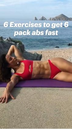 Fast Ab Workouts, Killer Workouts, Abs Workout Routines, Workout Videos, Daily Workouts, Workout Motivation, Flat Belly Workout, Butt Workout, Sprinter Workout