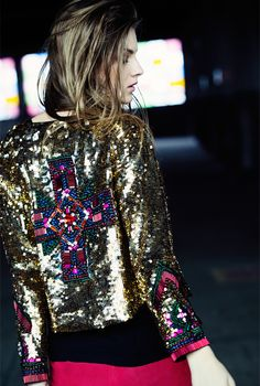 Joulik - Coleção Inverno 2013, sequin jacket