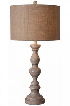 These Lamps are Beautiful Bennett Table Lamp II  #HomeDecorators