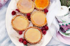 Bites of vanilla-scented creme brulee encased in crisp, golden pastry are a sweet way to end a picnic.