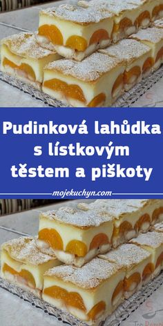 Czech Recipes, Ethnic Recipes, Sweet Desserts, Hot Dog Buns, A Table, Cookie Recipes, Cupcake Cakes, Sweet Tooth, Sandwiches
